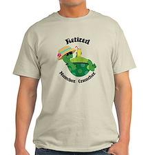 Retired Number Cruncher Gift T-Shirt