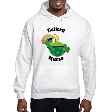 Retired Nurse Gift Hooded Sweatshirt