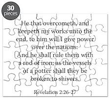 Revelation 2:26-27 Puzzle