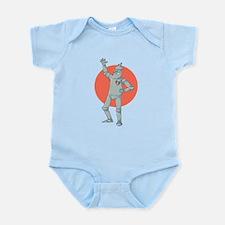 Tin Man Podcast Official Logo Infant Bodysuit