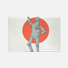 Tin Man Podcast Official Logo Rectangle Magnet
