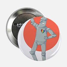 """Tin Man Podcast Official Logo 2.25"""" Button"""