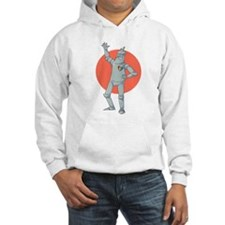 Tin Man Podcast Official Logo Hoodie