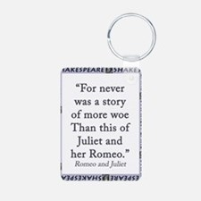 For Never Was a Story Keychains