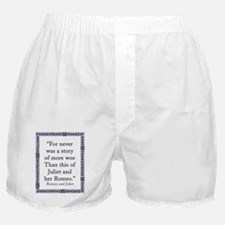 For Never Was a Story Boxer Shorts