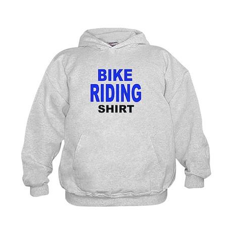 BIKE RIDING SHIRT.png Kids Hoodie