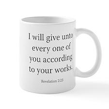 Revelation 2:23 Mug