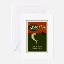 Kingfish Pub Greeting Cards (Pk of 10)