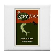Kingfish Pub Tile Coaster