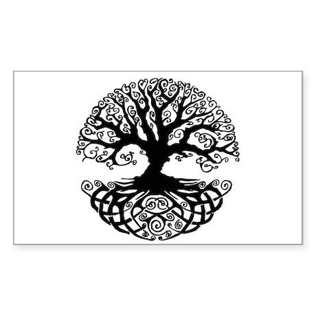 Tree of Life Sticker (Rectangle)