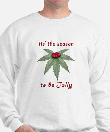 Tis the Season to be Jolly Holiday Weed Design Swe