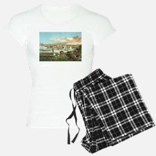 Vintage Newport Beach Pajamas