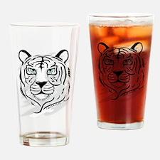 Siberian Tiger Drinking Glass