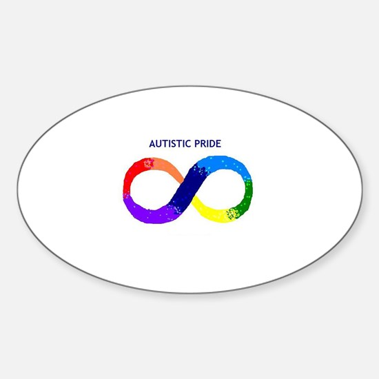 Autistic Pride Oval Decal