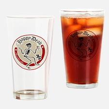 Happy Dead Drinking Glass
