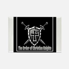 The Order of Christian Knights Rectangle Magnet