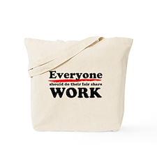 Everyone Work Tote Bag