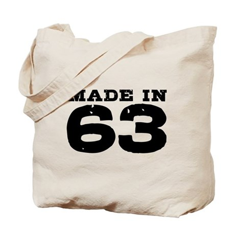 Made in 63 Tote Bag