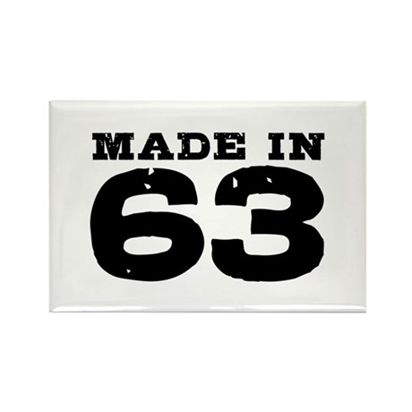 Made in 63 Rectangle Magnet