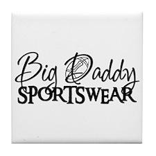 BIG DADDY FOOTBALL  Tile Coaster