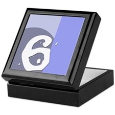 Number Six Keepsake Box