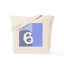 Number Six Tote Bag