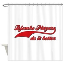 Djembe Players Do It Better Shower Curtain
