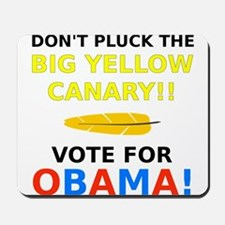 Big Yellow Canary Mousepad