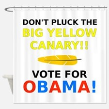 Big Yellow Canary Shower Curtain