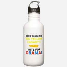Big Yellow Canary Water Bottle