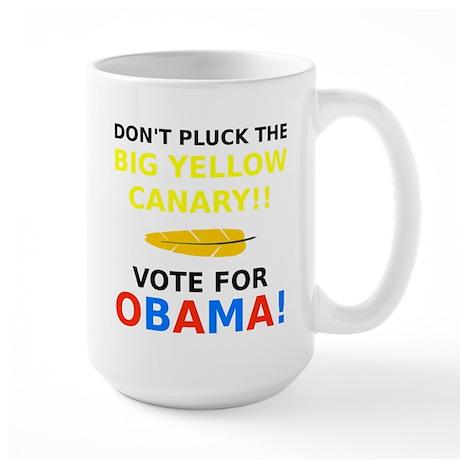 Big Yellow Canary Large Mug