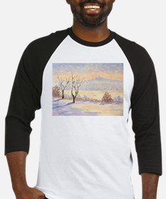 Winter Landscape Baseball Jersey