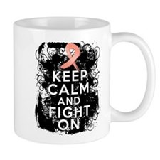 Endometrial Cancer Keep Calm Fight On Mug