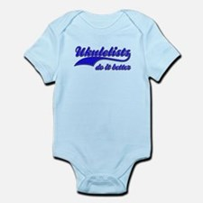Ukulelists Do It Better Infant Bodysuit