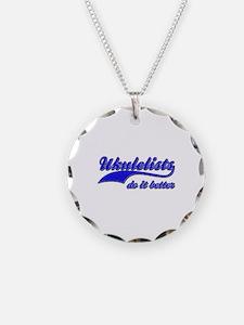 Ukulelists Do It Better Necklace