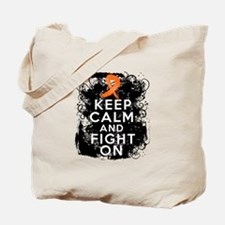 COPD Keep Calm Fight On Tote Bag