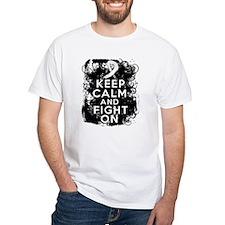 Bone Cancer Keep Calm Fight On Shirt