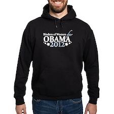 Binders of Women for Obama 2012 Hoodie