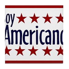 Soy Americano Tile Coaster