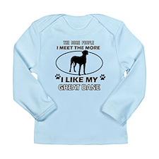 I like my Great Dane Long Sleeve Infant T-Shirt