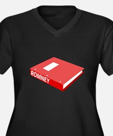 Romney's Binder Full of Women Women's Plus Size V-
