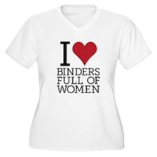 I Heart Binders Full of Women!! T-Shirt