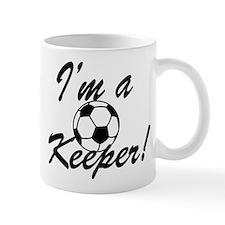 Im a Keeper Blk Mug