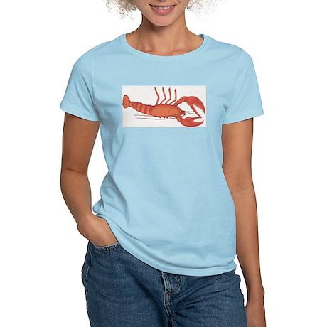 Red Lobster Women's Pink T-Shirt