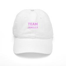 Team Janelle Pink Baseball Cap