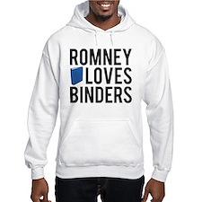 Romney-Loves-Binders.png Hoodie