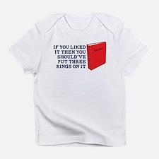 Put Three Rings on it Infant T-Shirt