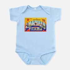 Amarillo Texas Greetings Infant Bodysuit