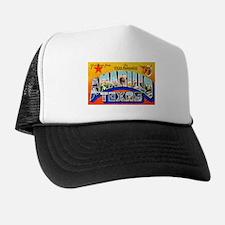 Amarillo Texas Greetings Trucker Hat
