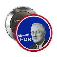 FDR - Vintage Campaign Button